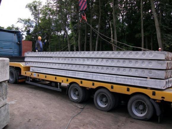 Перевозка железобетонных изделий работа железобетонная стеновая панель марки